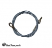 Clutch cable 08/71-03/74