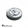 Stock style chrome oil cap