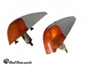 Front turn signals beetle HELLA pair 1960 - 1963