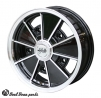 BRM wheel aluminium/black 5X205