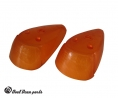 Front turn signal lenses beetle HELLA pair 68-