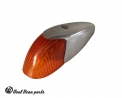 Front turn signal beetle orange lens 1960 - 1963